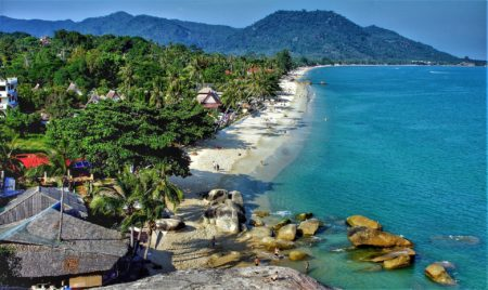 plage île Koh Samui