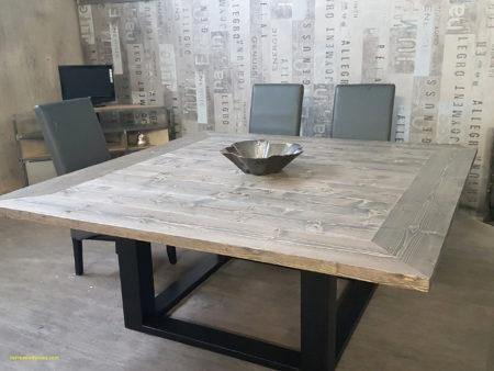 table carrée avec rallonge
